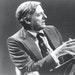 William F. Buckley, founder of National Review, a magazine that stimulated the conservative movement in the late-20th century United States, and host
