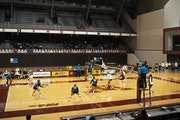 The Gophers were scheduled to play host to Michigan on Friday and Saturday at Maturi Pavilion.