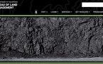 Before and after: Above, a screen shot of the Bureau of Land Management website from April 2017 showed a wall of coal. Below, the same website this mo