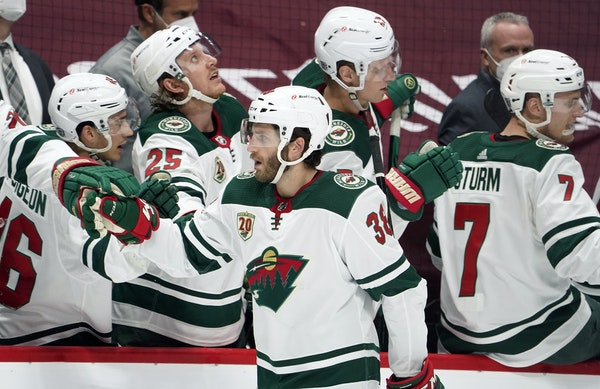 Wild's Hartman standing out as a playmaking center
