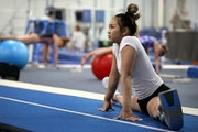 Suni Lee, who trains at Midwest Gymnastics in Little Canada, will compete on the uneven bars and balance bars at this weekend's Winter Cup in Indian