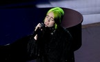 Billie Eilish performs during the 92nd Annual Academy Awards at Dolby Theatre on Feb. 9, 2020, in Hollywood, California. (Kevin Winter/Getty Images/TN