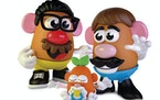 "Hasbro said the Mr. and Mrs. Potato Head characters will still exist, names and all, but the branding on the box will say ""Potato Head."""