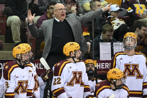 Bob Motzko's Gophers are leading the chase for the Big Ten tournament's No. 1 seed.