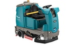 Tennant's thrid autonomous mobile robot, the T16AMR, is made for logistics centers and industrial facilities. (Provided by Tennant)