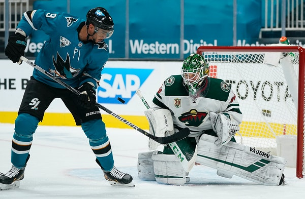 Kahkonen staking a claim to being Wild's regular goalie