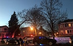 Minneapolis police officers investigated a fatal stabbing on the city's south side on Thursday afternoon.