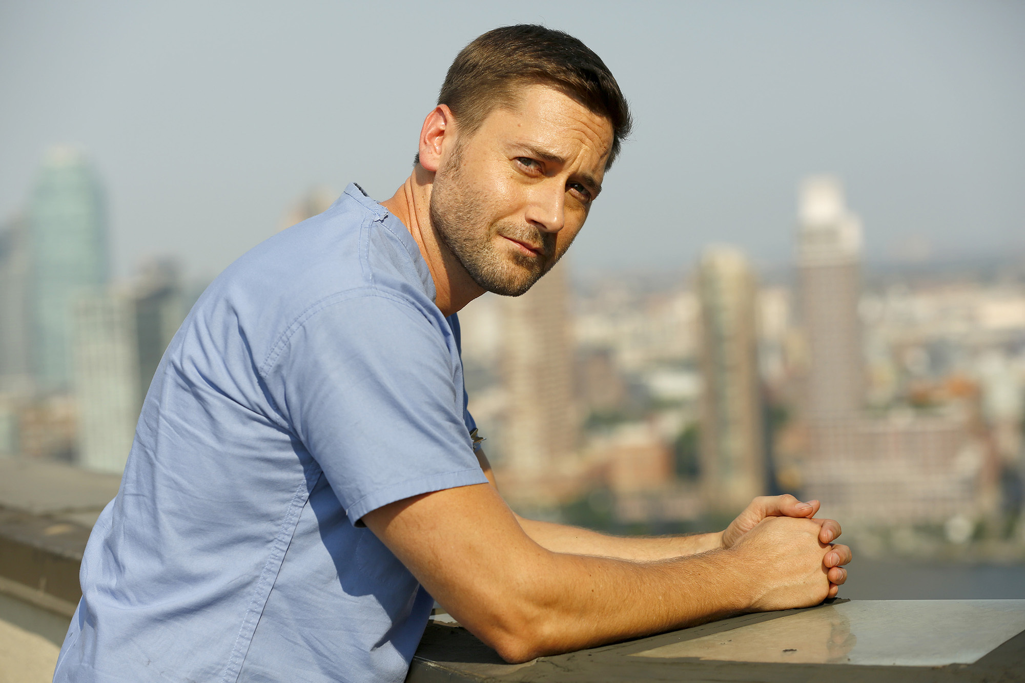 Ryan Eggold as Dr. Max Goodwin in 'New Amsterdam.'