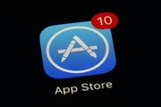 This file photo shows Apple's App Store app. (AP Photo/Patrick Semansky)