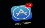 This file photo shows Apple's App Store app. (AP Photo/Patrick Semansky)