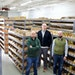 Omnia Fishing co-founders CEO Matt Johnson, Dan Wick and Chris Morgal in the company's 10,000-square-foot warehouse in Golden Valley. (Provided by