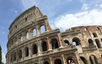 The Colosseum in Rome. (Ellen Creager/Detroit Free Press/TNS) ORG XMIT: 1185815