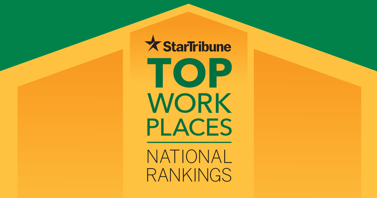 Star Tribune Top Workplaces National Rankings 2021
