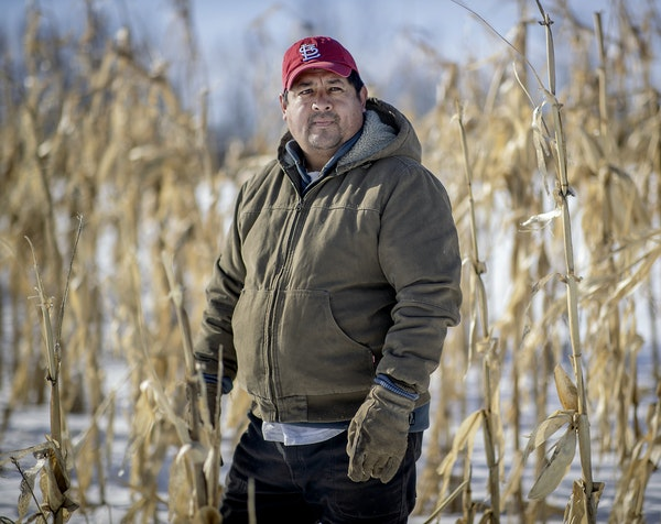 Rodrigo Cala moved to Minnesota in 2004 from Mexico City and bought this 46-acre farm in Turtle Lake, Wis., with his brother. He also trains emerging