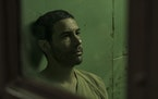 "Tahar Rahim plays Mohamedou Ould Slahi, a Guantanamo Bay detainee, in ""The Mauritanian."""