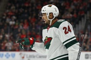 Wild defenseman Matt Dumba