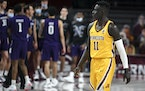 Gophers guard Both Gach is challenged by issues on and off the court this season.