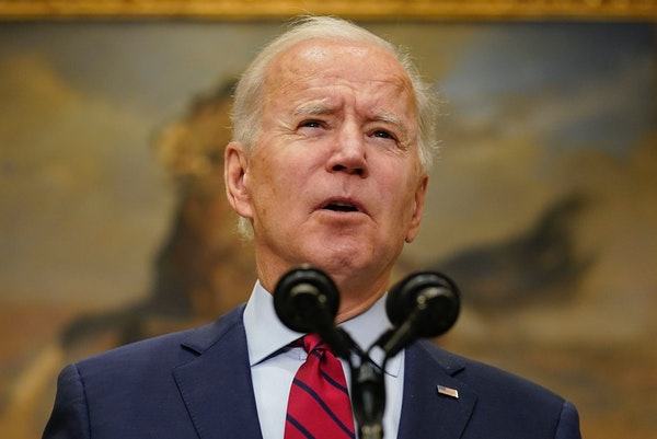 President Joe Biden spoke about the economy at the White House on Saturday.
