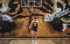On the basketball court, Will Tschetter, a Michigan-bound senior, is averaging 33 points a game for Stewartville.  He's also an A student and in t