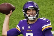 Vikings quarterback Kirk Cousins still has two years and $66 million remaining on his contract.