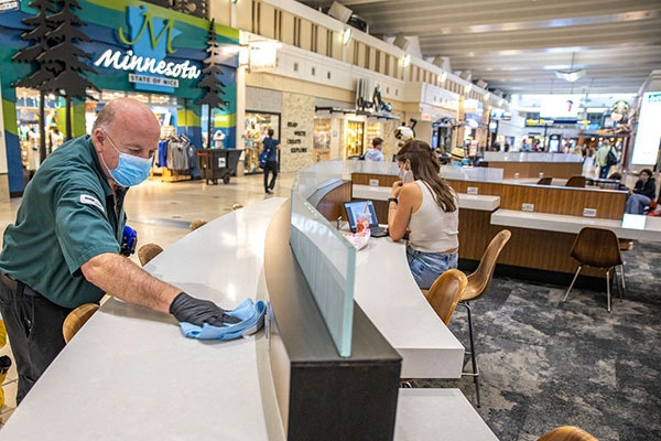 MAC officials said Monday they expect 338 daily flights on average to depart from the airport this month.