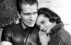 """Ron Ely, shown with costar Audrey Dalton,  replaced Keith Larsen in """"The Aquanauts"""" series."""