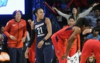Former Lynx guard Renee Montgomery is a team owner and a face of the WNBA's social justice mission.