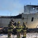 Fire officials in Duluth said a portion of the ship began to burn after a spark hit original wood in the captain's area. No injuries were reported.