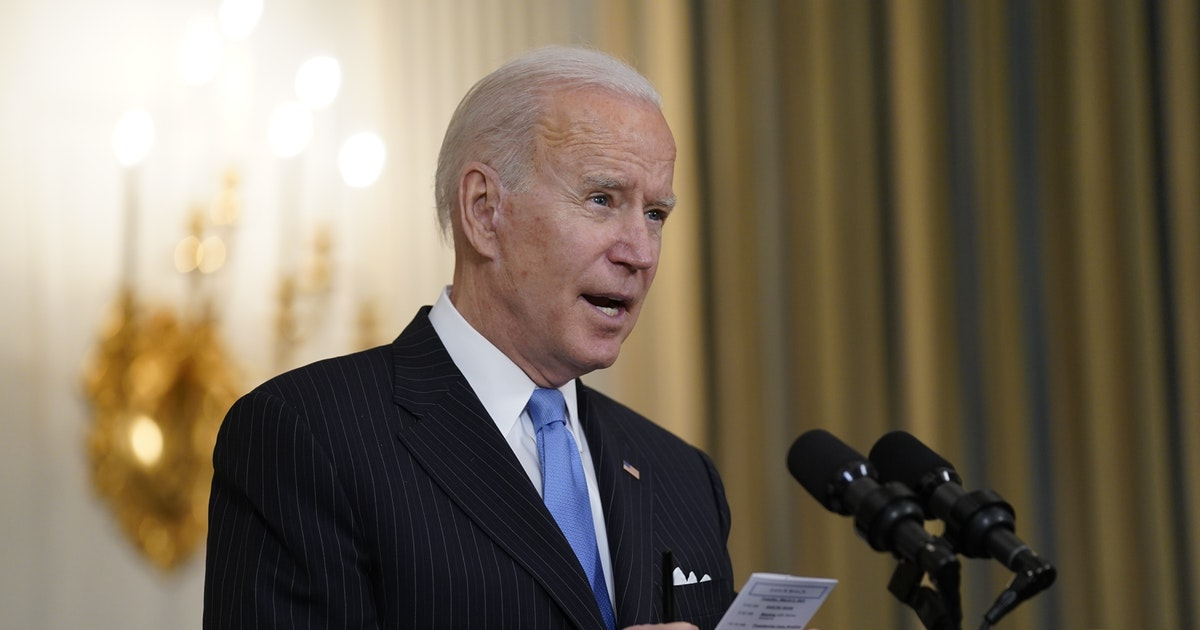Biden vows enough vaccine for all US adults by end of May - Minneapolis Star Tribune