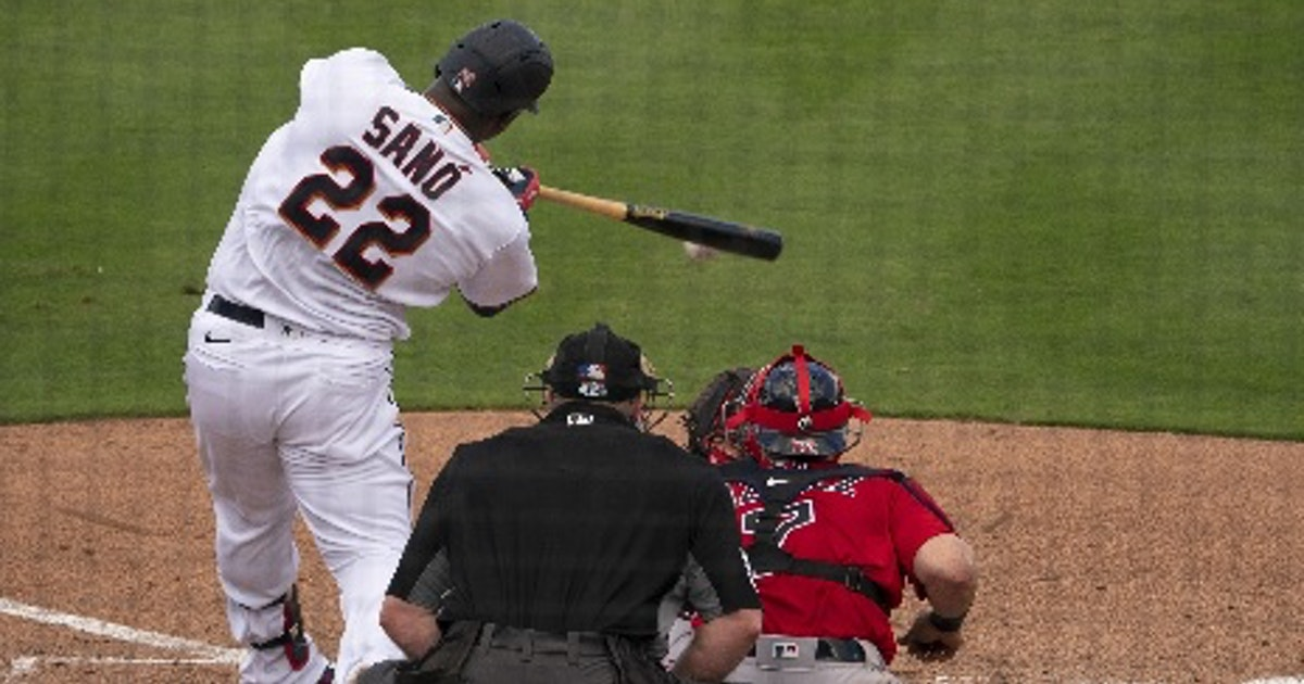 It's early, but time for Twins to check Miguel Sano's timing on fastballs