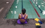 A proposed ban on transgender athletes playing female school sports in Utah would affect transgender girls like this 12-year-old swimmer. She and her