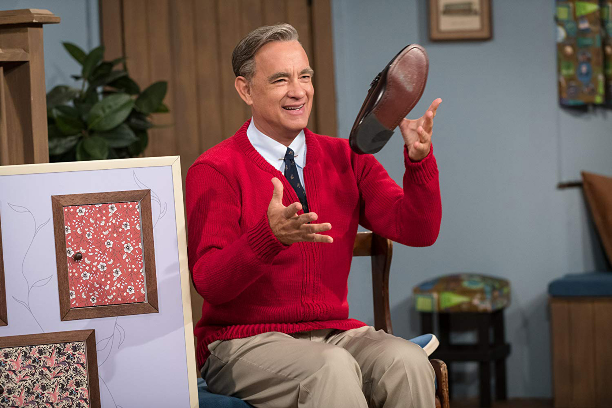 Tom Hanks as Mister Rogers in 'A Beautiful Day in the Neighborhood.'