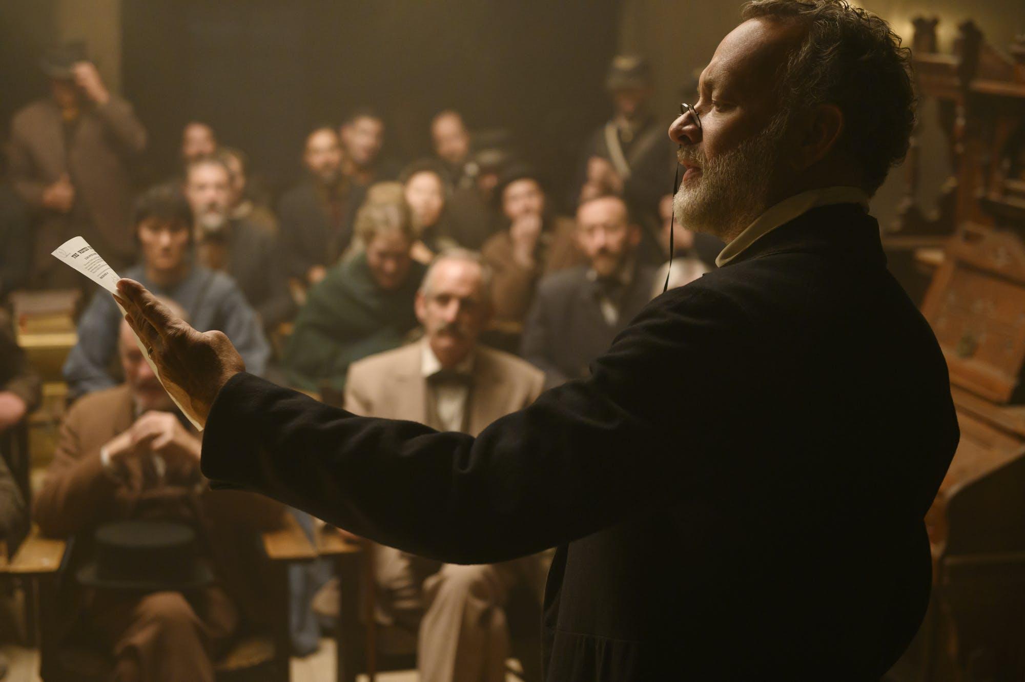 Tom Hanks as Captain Jefferson Kyle Kidd in 'News of the World.'