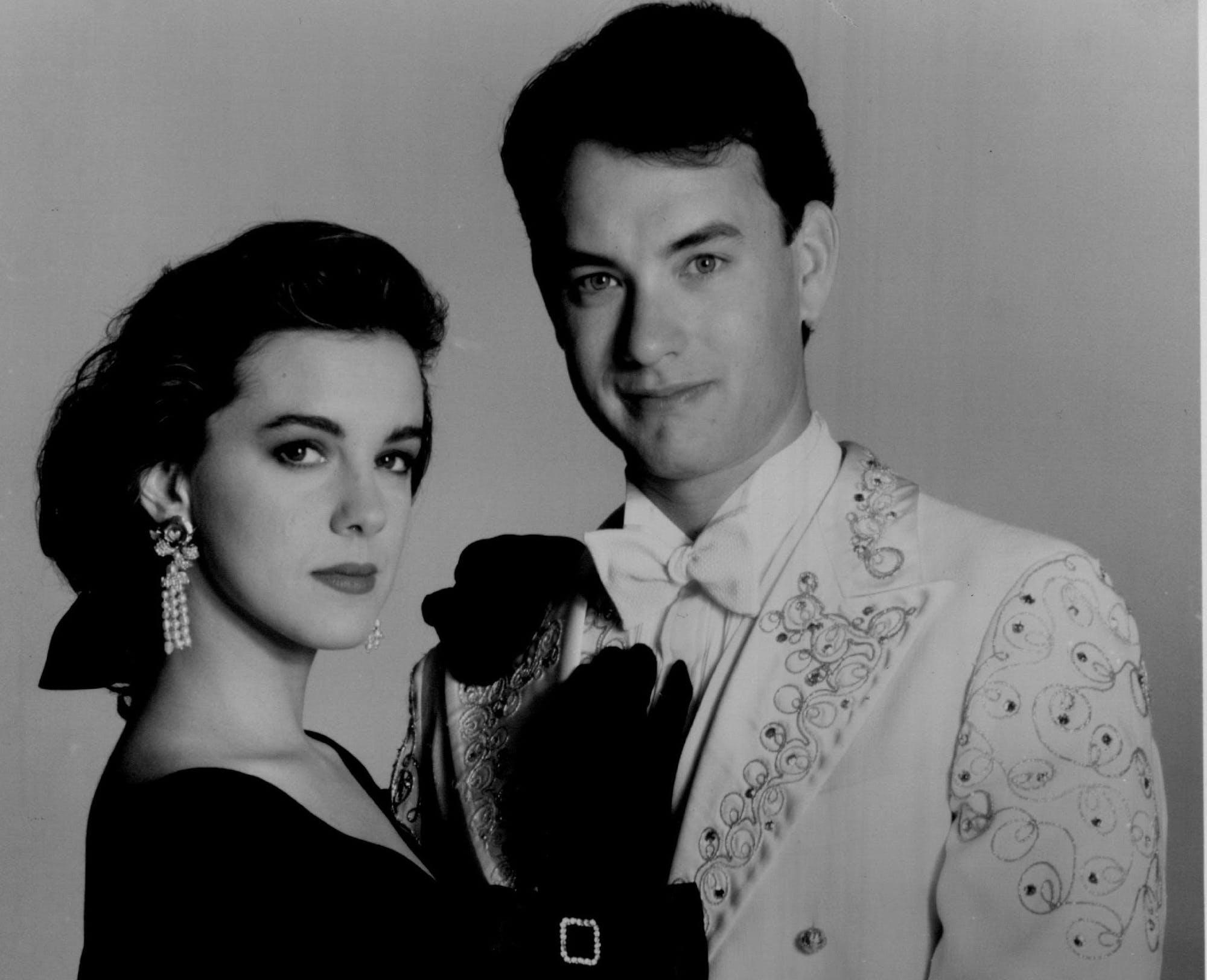 Tom Hanks and Elizabeth Perkins in 'Big.'