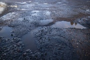 FILE-A California woman is suing Duluth for injuries after tripping on a pothole