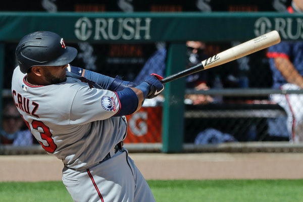 Nelson Cruz homered against the White Sox during a game last season.