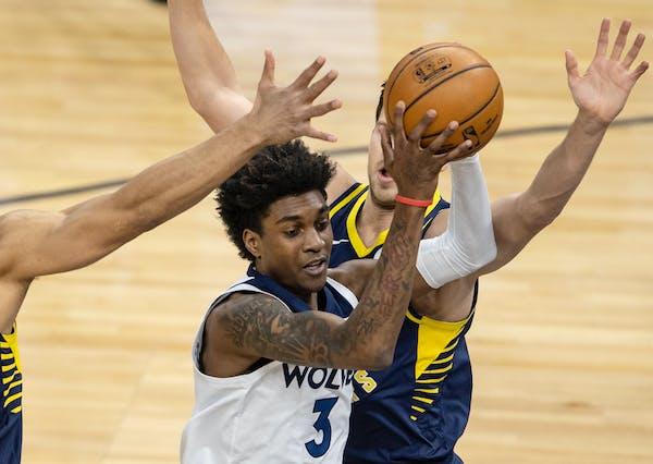 Timberwolves rookie Jaden McDaniels