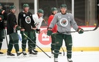 Wild assistant captain Zach Parise