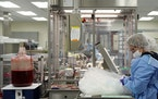 Bio-Techne's manufacturing facility in Minneapolis. (ANTHONY SOUFFLE/Star Tribune)