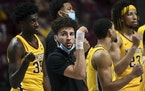 Gophers guard Gabe Kalscheur sang the Minnesota Rouser after loss to Northwestern.