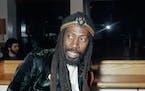 Bunny Wailer, Jamaican reggae singer, songwriter and original member of Bob Marley's band the Wailers, circa 1975.