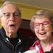 Harmony Kaplan and her duet-partner husband, Joel.