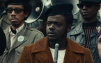 "Daniel Kaluuya as Fred Hampton in ""Judas and the Black Messiah."""