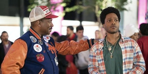 "Eddie Murphy and Jermaine Fowler in ""Coming 2 America."" Paramount Pictures"