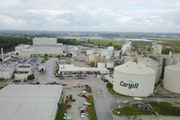 Cargill is going double the crush capacity at this soybean processing plant in Sidney, Ohio.
