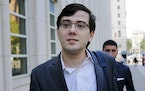 In this Aug. 3, 2017, file photo, Martin Shkreli arrives at federal court in New York. (AP Photo/Seth Wenig, File) ORG XMIT: MER76c8d240c429abbd9b5d57