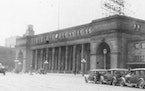 The Great Northern Depot in 1929.