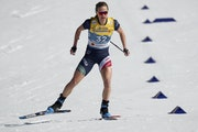 Jessie Diggins, shown here at the FIS Nordic World Ski Championships on Tuesday, finished in fourth place on Thursday with the Team USA 4x5-kilometer