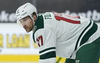 """I'm at a time in my career where I feel really good,"" the Wild's Marcus Foligno said. Foligno has seven goals and five assists for 12 points"