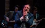 Sean Tillmann, aka Har Mar Superstar, during his Feb. 10 show of Sam Cooke songs at the Dakota Jazz Club.